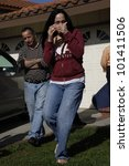Small photo of LOS ANGELES - MAR 10: Nadya Suleman aka Octomom is at her house shortly after moving in with her 14 children on March 10, 2009 in Los Angeles, California. She filed for bankruptcy in 2012