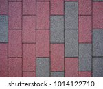 brick tile cement block color... | Shutterstock . vector #1014122710