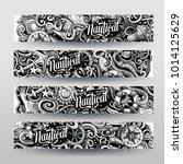 cartoon graphics vector hand... | Shutterstock .eps vector #1014125629