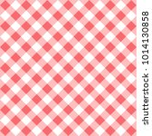 seamless checkered seamless... | Shutterstock .eps vector #1014130858