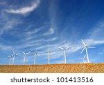 Wind Turbines In Palm Springs ...