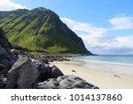 lofoten archipelago in arctic... | Shutterstock . vector #1014137860