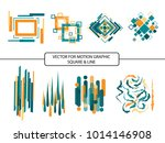 vector for motion graphic... | Shutterstock .eps vector #1014146908