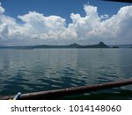 View From A Boat In Taal...