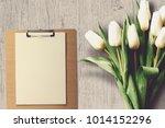 st. valentine day scene. ideal...   Shutterstock . vector #1014152296