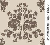 a seamless wallpaper vector... | Shutterstock .eps vector #101415370