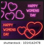 set of neon vouchers. women's...
