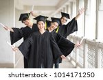 graduation day  images of... | Shutterstock . vector #1014171250