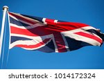 union flag of the united... | Shutterstock . vector #1014172324