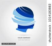 head silhouette   creative... | Shutterstock .eps vector #1014183883
