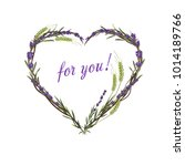 Lavender Heart. Lavender And...