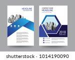 design brochure cover layout... | Shutterstock .eps vector #1014190090