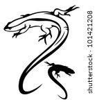 Lizard Vector Illustration  ...