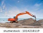 Heavy Excavator Working...