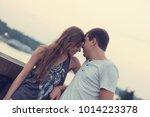 couple in love. love concept. | Shutterstock . vector #1014223378