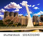 beautiful view. suspension...   Shutterstock . vector #1014231040
