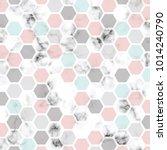 vector marble texture design... | Shutterstock .eps vector #1014240790
