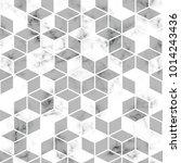 vector marble texture  seamless ... | Shutterstock .eps vector #1014243436