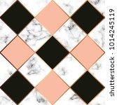 vector marble texture  seamless ... | Shutterstock .eps vector #1014245119