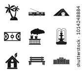 ground icons set. simple set of ... | Shutterstock .eps vector #1014248884