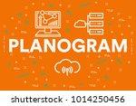 conceptual business... | Shutterstock . vector #1014250456