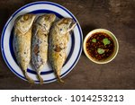 Fried Mackerel And Fish Sauce...