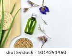 aloe vera plant  natural... | Shutterstock . vector #1014291460
