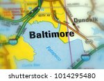 baltimore  the largest city in... | Shutterstock . vector #1014295480