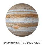 planet jupiter isolated ... | Shutterstock . vector #1014297328