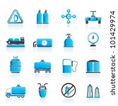 Natural Gas Objects And Icons ...