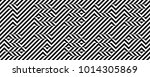 black and white numbers 1 9.... | Shutterstock .eps vector #1014305869