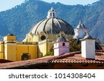 colonial architecture in... | Shutterstock . vector #1014308404