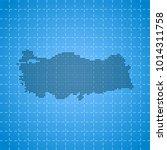 map of turkey   Shutterstock .eps vector #1014311758