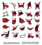 a set of  cartoon illustrations....   Shutterstock . vector #1014315103