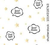baby sleep gold illustration... | Shutterstock .eps vector #1014318763