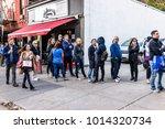 brooklyn  usa   october 28 ...   Shutterstock . vector #1014320734