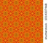 seamless gold and red pattern... | Shutterstock .eps vector #1014337468