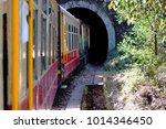 toy train shimla tunnel