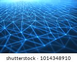 3d illustration of connections... | Shutterstock . vector #1014348910