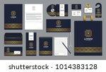 corporate identity branding... | Shutterstock .eps vector #1014383128