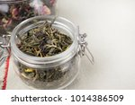 orgnic fresh tea  traditional... | Shutterstock . vector #1014386509