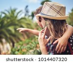mom with son travelling in...   Shutterstock . vector #1014407320