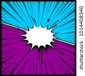 pop art colorful backdrop mock... | Shutterstock .eps vector #1014408340