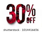 30  off discount promotion sale ... | Shutterstock . vector #1014416656