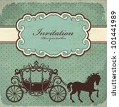 vintage luxury carriage  3  | Shutterstock .eps vector #101441989