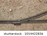 Scale Railroad Switch In Desert ...