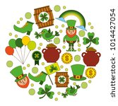 st patricks day celebration... | Shutterstock .eps vector #1014427054