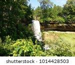 beautiful view of minnehaha... | Shutterstock . vector #1014428503