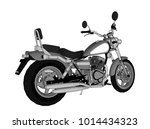 a small chopper is a classic....   Shutterstock .eps vector #1014434323