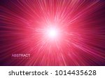 shiny radial burst with linear... | Shutterstock .eps vector #1014435628